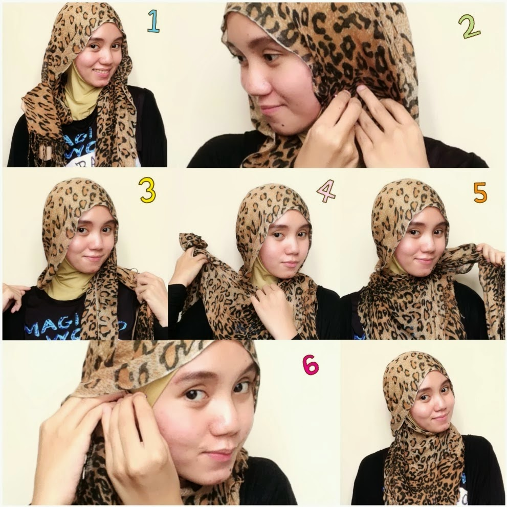 30 Koleksi Tutorial Hijab Paris Kepang Paling Baru Tutorial