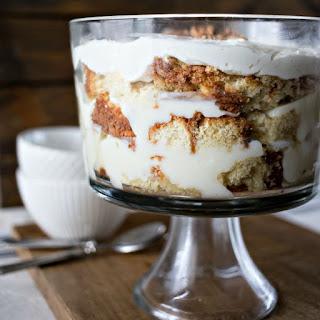 Italian Cream Cake Trifle.
