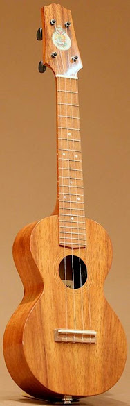 the oval concert ukulele