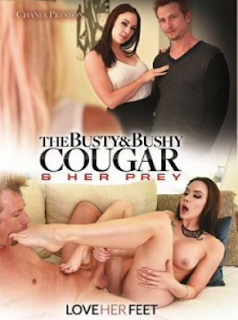 The Busty and Bushy Cougar and Her Prey