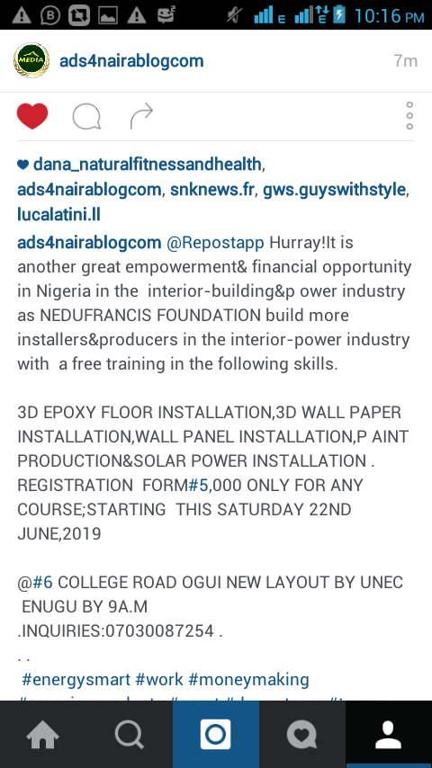 Nedu Francis Foundation To Train 20,000.Persons On Solar Power Installation And Other 8 Added Skills In South East