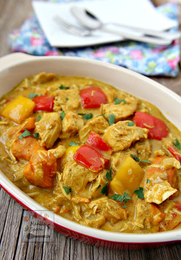 Filipino coconut chicken curry manila spoon gluten free paleo friendly healthy and delicious is this filipino style forumfinder Gallery