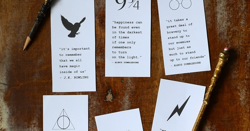 It is an image of Printable Harry Potter Bookmarks intended for first day school