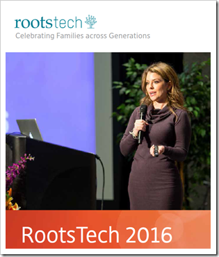 rootstech 2016  - 跨越家庭
