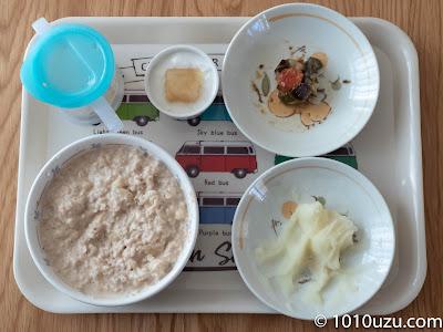 1歳2か月頃の朝食