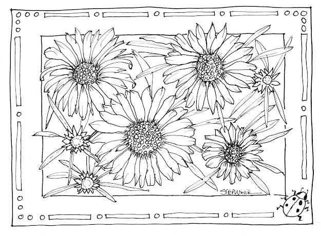 Sunflower Coloring Pages With Sunflower Coloring Page