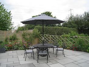 Photo: 6 Seater Round Metal Garden Set http://www.outsideedgegardenfurniture.co.uk/Cast-Aluminium-and-Metal-Garden-Furniture/Tables-for-6/6-Seater-Round-Metal-Garden-Set.html