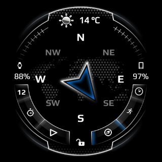 Neo Watch Face- screenshot