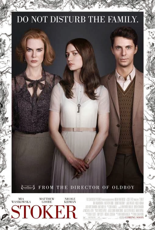Poster Of English Movie Stoker (2013) Free Download Full New Hollywood Movie Watch Online At Alldownloads4u.Com
