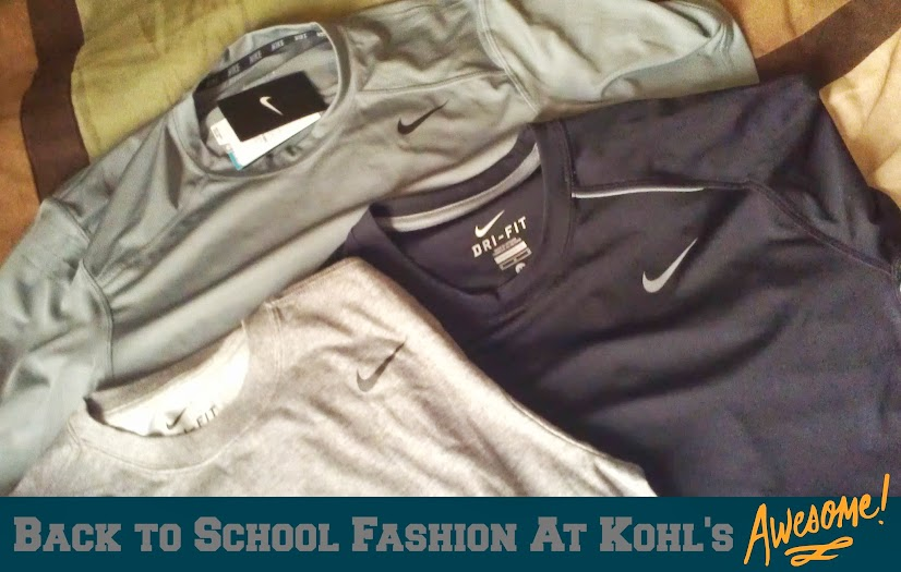 Back to School Fashion for Kids: Nike Performance Athletic Shirts from Kohl's