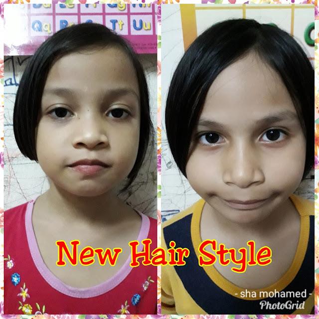 Potong Rambut Amani & Imani