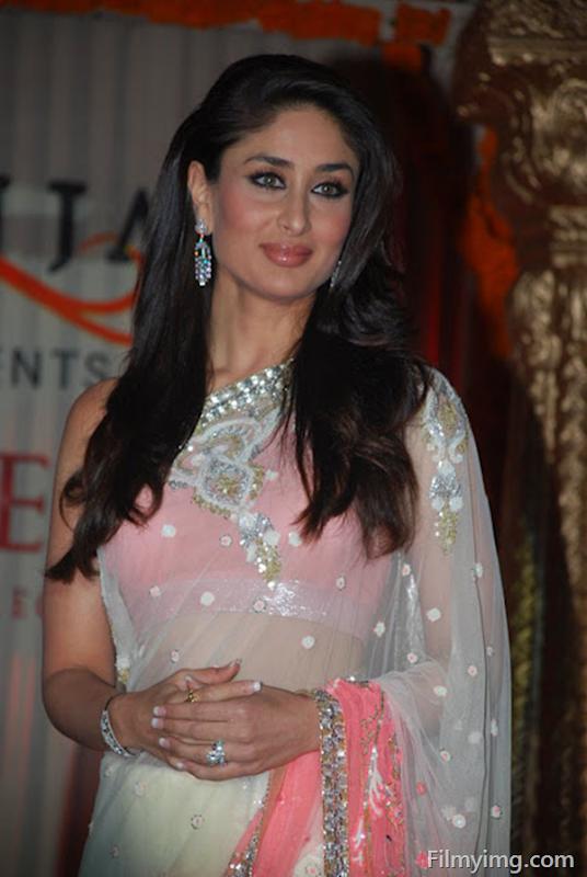 Kareena Kapoor Photos In Pink Saree