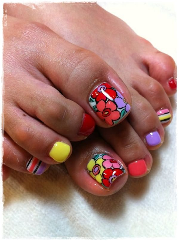 44+ Toe Nail Designs Ideas for 2018 - Nails C