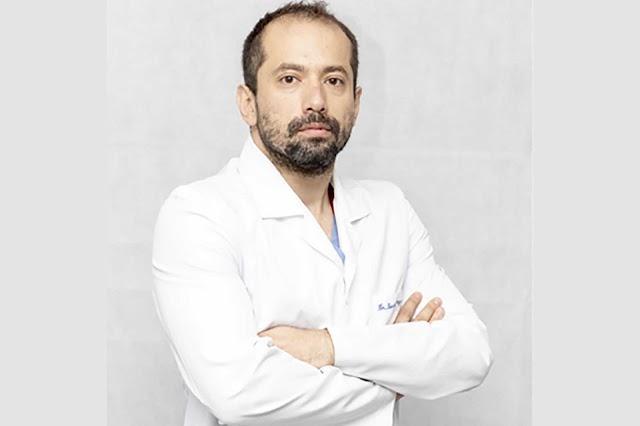 Dr. Daniel Manzur, un egresado   de la UAG en el epicentro de la pandemia