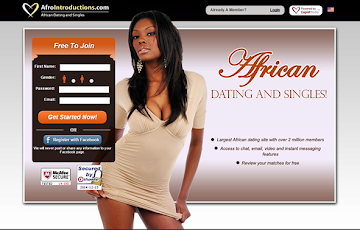Afrointroductions.com dating website