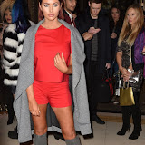 OIC - ENTSIMAGES.COM - Amy Childs at the  LFW a/w 2016: Ashley Isham - catwalk show in London 20th february 2016 Photo Mobis Photos/OIC 0203 174 1069