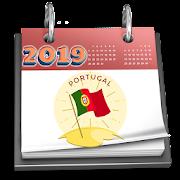 Portuguese Calendar 2019