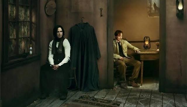 Teoria: Severo Snape e Remo Lupin eram bons amigos antes de Tiago e Sirius chegarem a Hogwarts