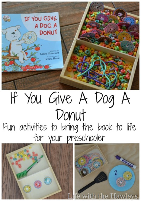 If you give a dog a donut- Life with the Hawleys