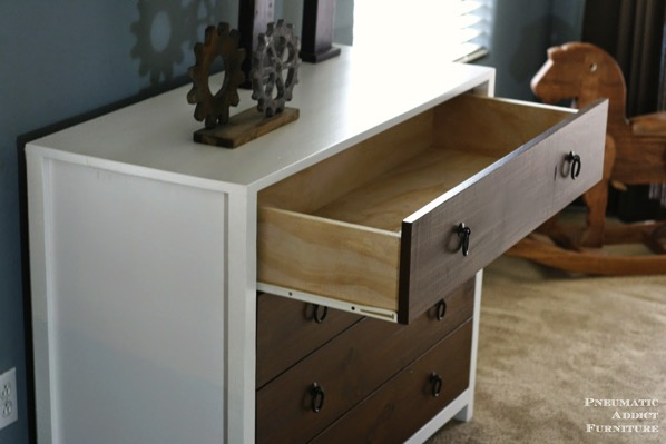 Solid wood dresser plans diy