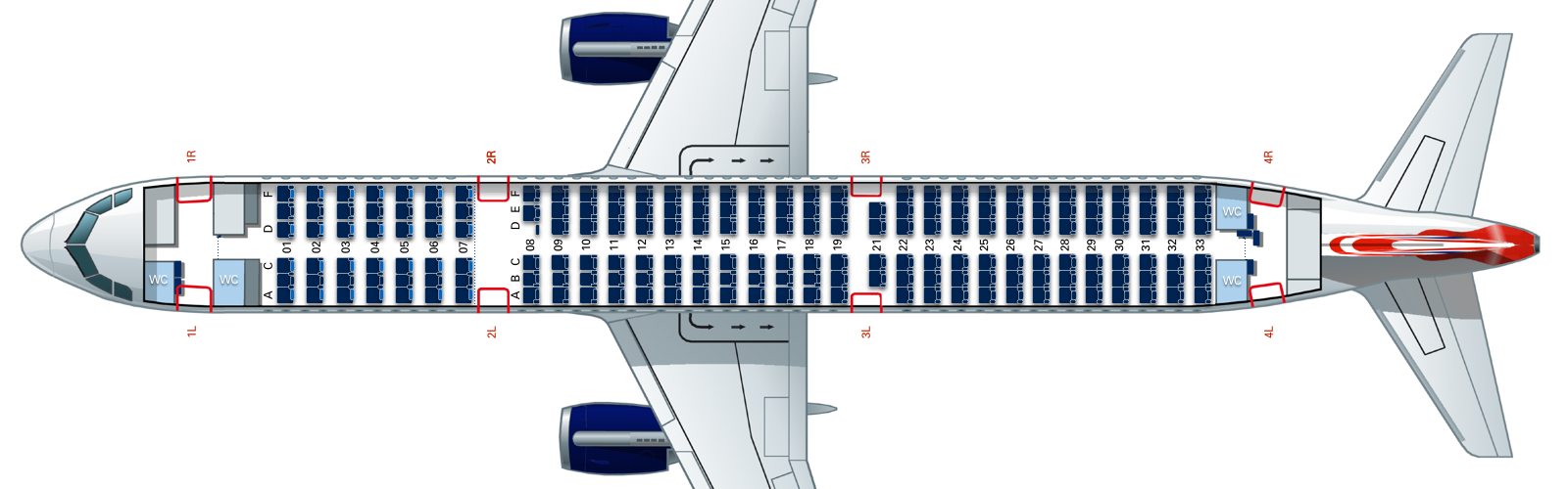 Seating Guide Airbus A321 Short Haul Flyertalk Forums