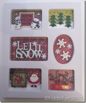 Christmas Photoframe sampler