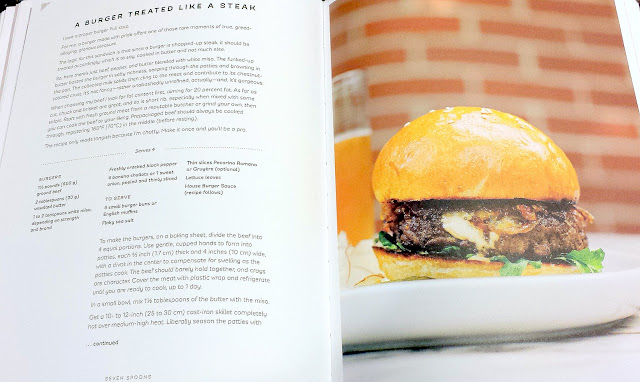 A Burger Treated Like a Steak recipe from the book Seven Spoons by Tara O'Brady