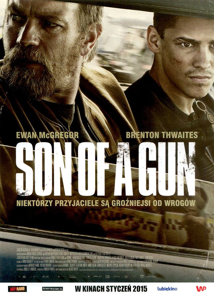 Ulotka filmu 'Son Of A Gun (przód)'