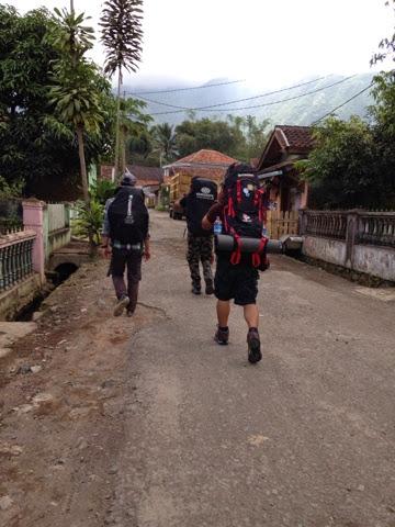 itinerary naik gunung