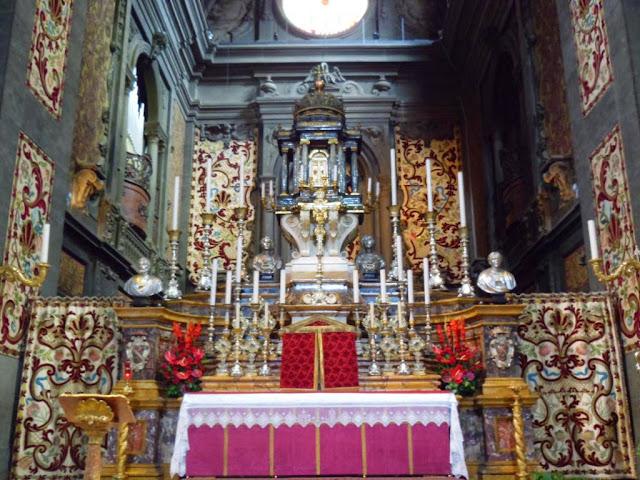 Altar iglesia de Santi Michele e Gaetano