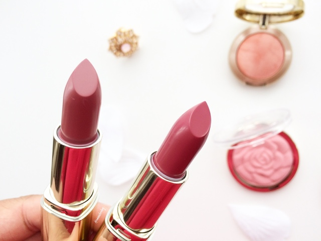 Milani color statement lipsticks for nc40 indian medium skin