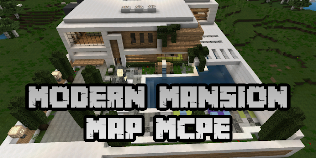 App New Modern Mansion Map for Minecraft PE APK for Windows Phone