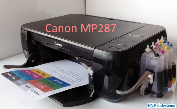 about canon mp287 printer