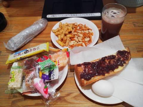 お菓子バー付きモーニング60分¥390 あさえもん津島店