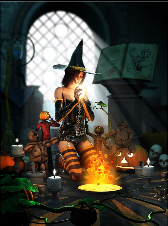 Wiccan Spells At Night, Wicca Girls