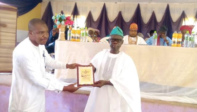 Dr. Olatunji Bags Best Rector Award