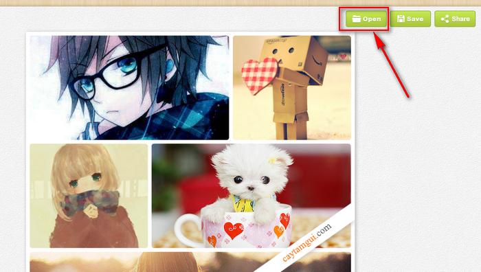 Hướng dẫn ghép ảnh Online cực đẹp, nhanh chóng và đơn giản