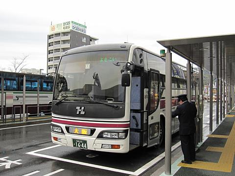 阪急バス「よさこい号」昼行便 05-2888 高知駅BT改札中