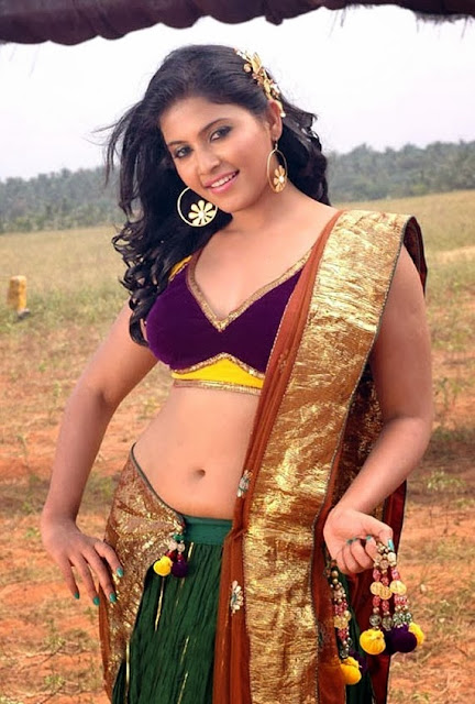 Anjali sexy belly photo,