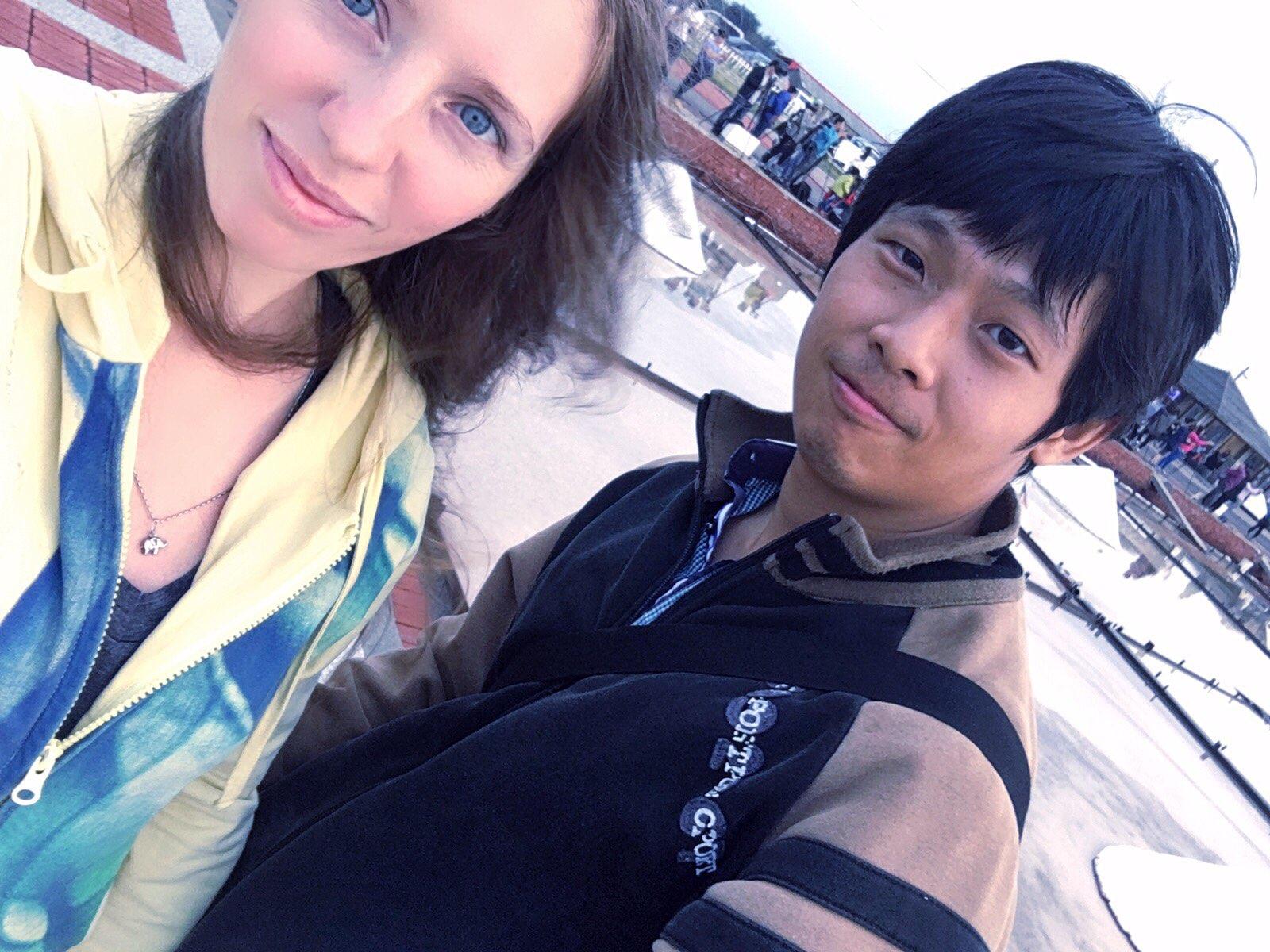 jingzijiao wapan salt fields Tainan taiwan amwf couple taiwan