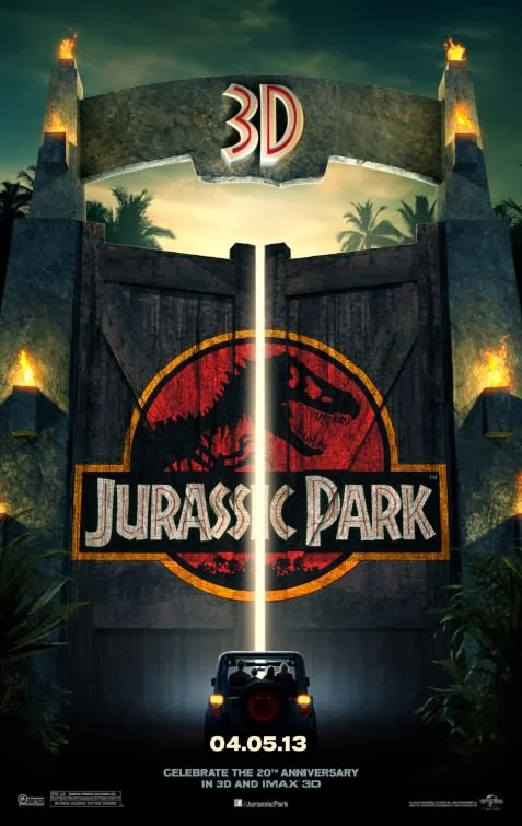 Poster Of Jurassic Park (1993) Full Movie Hindi Dubbed Free Download Watch Online At alldownloads4u.com