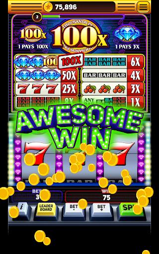 Triple 100x Diamonds - Slot Machine Free apktram screenshots 1