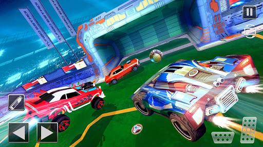 Rocket Car Football Soccer League Champion screenshot 1