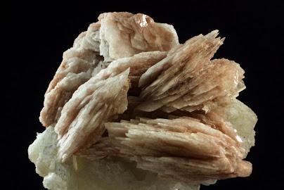Baritina sobre fluorita