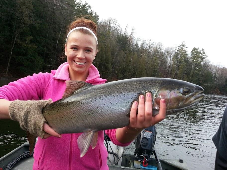 Muskegon River Steelhead Fishing Guide Service