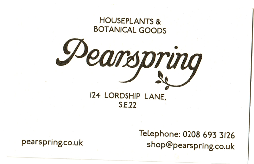 Pearspring Card