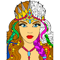 Paint By Number - Happy Adult Color By Number Book icon