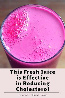 Juice for Cholesterol, Beet Juice, Apple Juice, Papaya Juice, Banana Juice