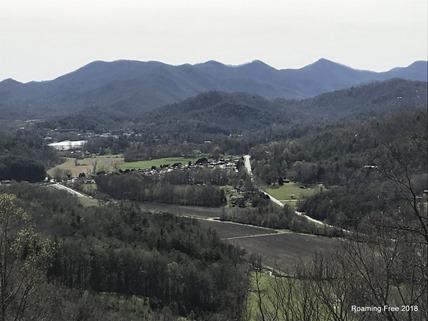 Dillard, GA in the valley