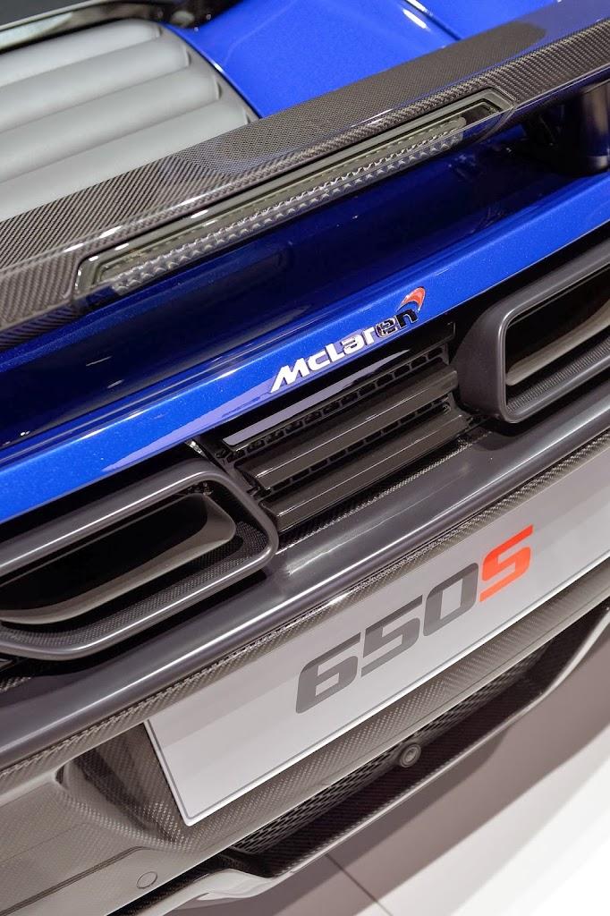 McLaren 650S Spider Geneva Motor Show 12